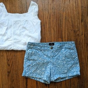 Mid-Rise American Eagle Shorts